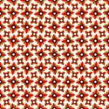 Los objetos geométricos rojos en un fondo ligero wallpaper Imagenes de archivo