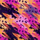 Los objetos geométricos y abstractos colorearon el fondo Fotografía de archivo