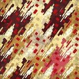 Los objetos geométricos y abstractos colorearon el fondo Imagen de archivo