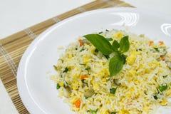 Los olmos encendieron el arroz Foto de archivo libre de regalías