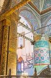 Los ornamentos islámicos en el museo de Mevlana Fotografía de archivo