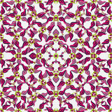 Los pétalos rosados de la flor en un fondo blanco wallpaper Imágenes de archivo libres de regalías