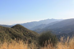 Los Padres National Park Mountains Stock Photo