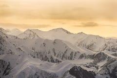 Los paisajes de la montaña Imágenes de archivo libres de regalías