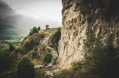 Los paisajes de Val Susa Foto de archivo