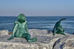 Los paisajes marinos toscanos, paraíso están después IX Fotografía de archivo libre de regalías