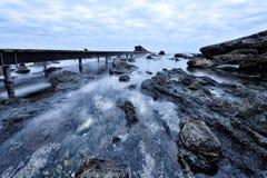 Los paisajes marinos toscanos, paraíso están después XXV Foto de archivo