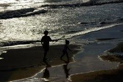 Los paisajes marinos toscanos, paraíso son siguientes Fotos de archivo
