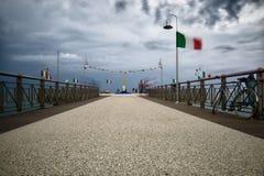 Los paisajes marinos toscanos, paraíso son V siguientes Foto de archivo