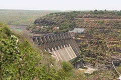 Los paisajes riegan proyectos en Andhra Pradesh en la naturaleza view' s foto de archivo