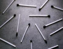 Los palillos del partido se cierran para arriba imágenes de archivo libres de regalías