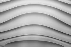 Los paneles abstractos de la imagen hechos del yeso con el modelo de la geometría Fotos de archivo libres de regalías