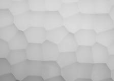 Los paneles abstractos de la imagen hechos del yeso con el modelo de la geometría Foto de archivo
