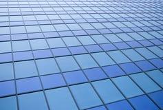 Los paneles azules imagen de archivo libre de regalías