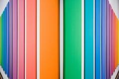 Los paneles coloreados Fotos de archivo