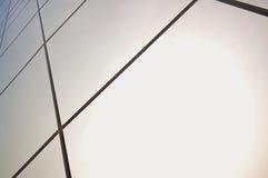 Los paneles de cristal Foto de archivo libre de regalías