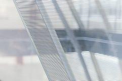 Los paneles de cristal Imagenes de archivo