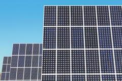 Los paneles de energía solar Fotos de archivo