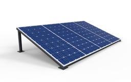 Los paneles de la célula solar Imágenes de archivo libres de regalías