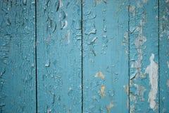 Los paneles de madera azules fotos de archivo libres de regalías