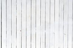 Los paneles de madera blancos viejos Fotografía de archivo