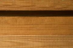 Los paneles de madera de Brown foto de archivo libre de regalías