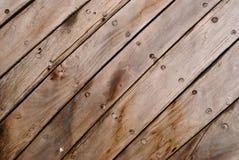 Los paneles de madera de Grunge Fotografía de archivo libre de regalías