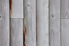 Los paneles de madera de la cerca fotografía de archivo