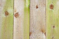 Los paneles de madera de la cerca Fotos de archivo