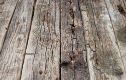 Los paneles de madera del Grunge Fotos de archivo libres de regalías