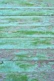 Los paneles de madera del Grunge con viejo pintado para el fondo Fotografía de archivo