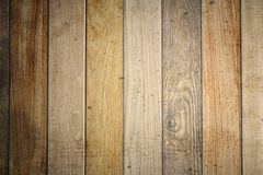 Los paneles de madera del viejo grunge usados como fondo Imágenes de archivo libres de regalías