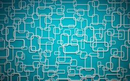 Los paneles de pared usados como fondo. Fotografía de archivo libre de regalías