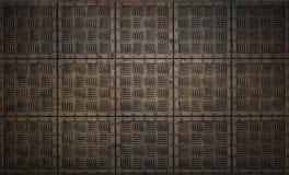 Los paneles del metal Imagenes de archivo