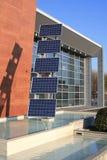 Los paneles fotovoltaicos 02 Imagen de archivo