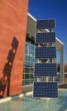 Los paneles fotovoltaicos 03 Fotografía de archivo libre de regalías
