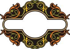 Los paneles ornamentales Fotografía de archivo