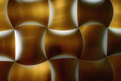 Los paneles retroiluminados del metal Fotografía de archivo