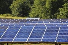 Los paneles solares imagen de archivo libre de regalías