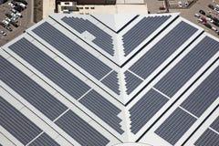 Los paneles solares Imágenes de archivo libres de regalías