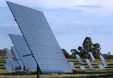 Los paneles solares Fotos de archivo