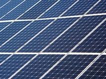 Los paneles solares detalladamente Foto de archivo libre de regalías
