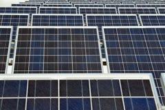 Los paneles solares - energía ecológica Fotografía de archivo libre de regalías