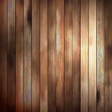 Los paneles viejos de la textura de madera del fondo. EPS 10 ilustración del vector