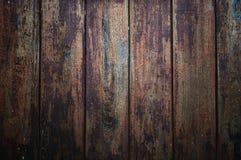 Los paneles viejos del fondo de madera de la textura Foto de archivo libre de regalías
