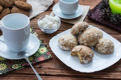 Los panes de jengibre dulces Fotos de archivo