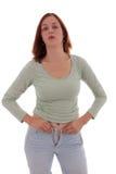Los pantalones apretados Imagen de archivo libre de regalías