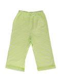 Los pantalones rayados de los niños Fotos de archivo