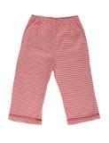 Los pantalones rayados de los niños Fotografía de archivo libre de regalías