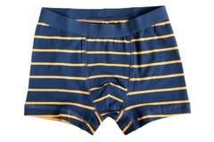 Los pantalones rayados de los niños Foto de archivo